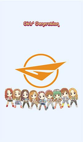 LINE theme-Girls' generation (1)