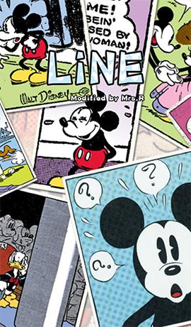 LINE theme-Mickey & Minny (1)