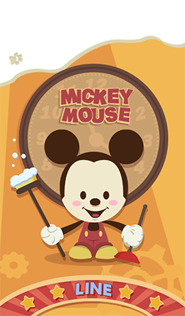 LINE theme-Mickey Mouse (1)