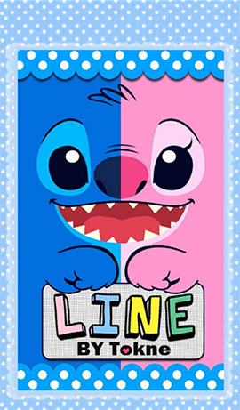 Stich (with 2 colors)1