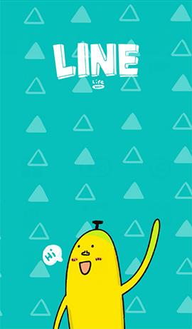 line theme-Mr. Banana 1