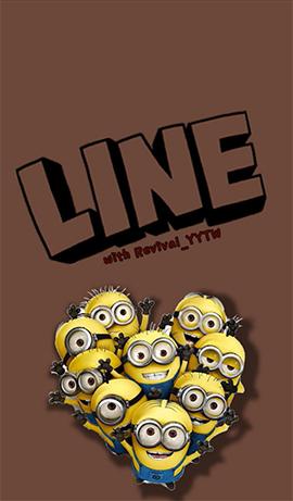 line theme-The Minions 1
